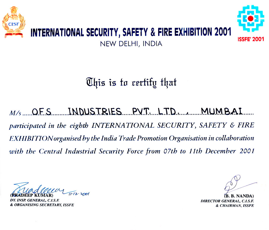 International Security Safety & Fire